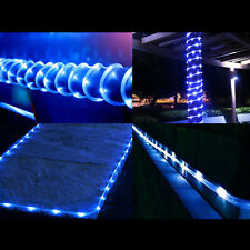 16.5FT 50LEDS Solar Rope Tube Lights Led String STRIP Waterproof Outdoor Garden