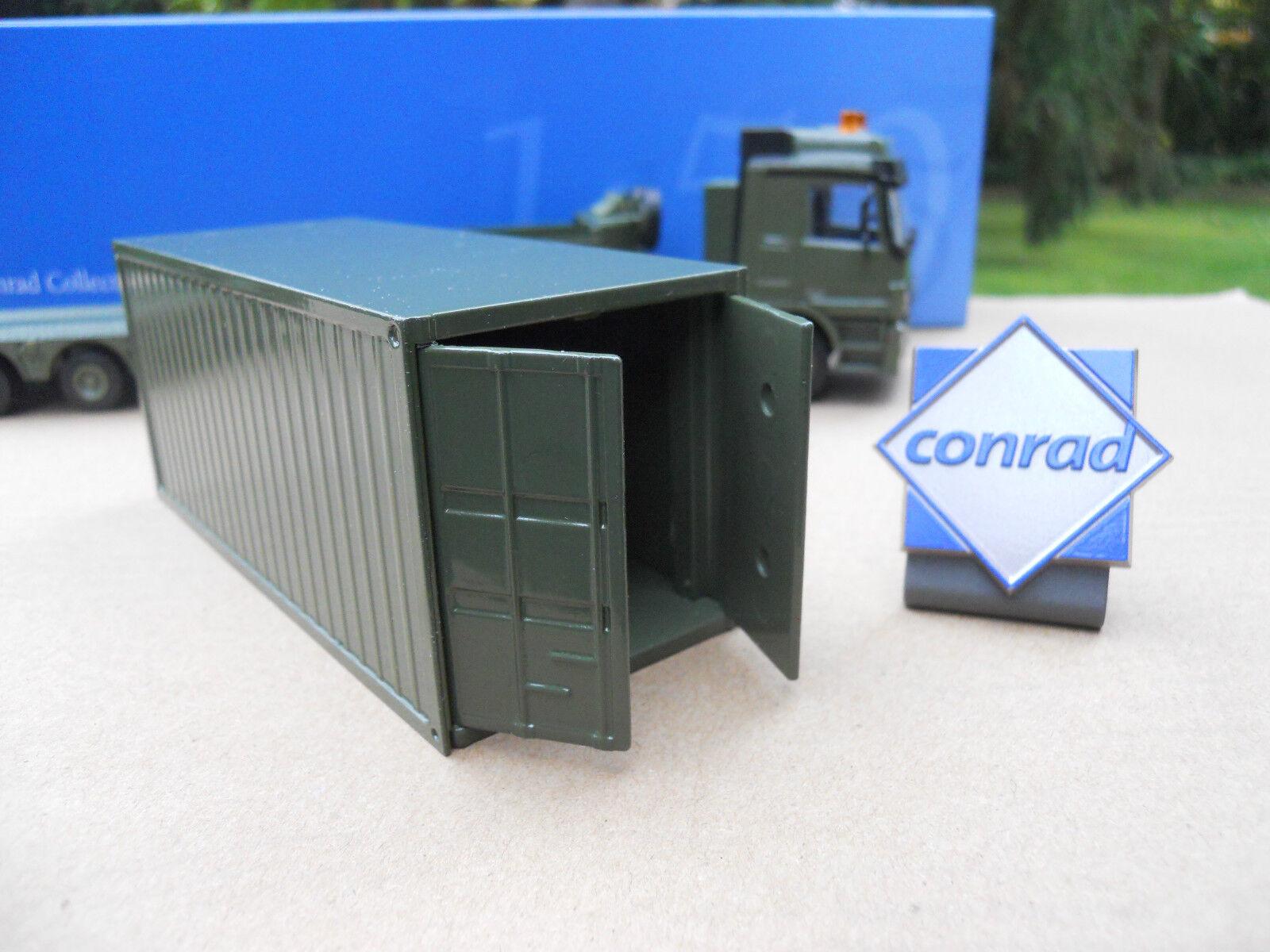 VEICOLO MILITARE CONRAD MB 6X4 + + + SEMI 5 ASSI & CONTENITORE + LOGO 486d2c