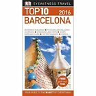 DK Eyewitness Top 10 Travel Guide: Barcelona by DK Publishing (Paperback, 2016)