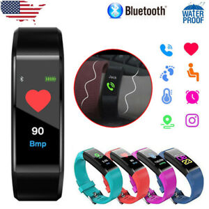 Smart-Bracelet-Heart-Rate-Monitor-Blood-Step-Counter-Fitness-Tracker-Smart-Watch