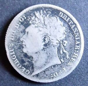 1824 King George Shilling  Nice Condition collectable               3445 - Belfast, United Kingdom - 1824 King George Shilling  Nice Condition collectable               3445 - Belfast, United Kingdom