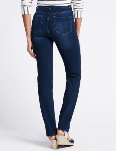 M/&S CURVE 360 Contour Straight Jeans 6//8//12//16//20 RRP £45
