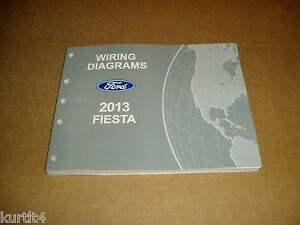 2013 ford fiesta wiring diagram service shop dealer repair manual ebayimage is loading 2013 ford fiesta wiring diagram service shop dealer