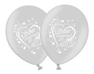 Happy-Silver-25th-Anniversary-Printed-12-034-White-Silver-Latex-Balloons-1-100ct-UK