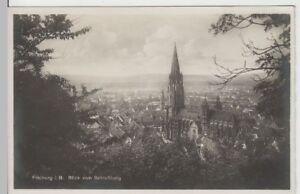 66298 Breisgau Blick Vom Schloßberg Vor 1945 Um Jeden Preis Foto Ak Freiburg I