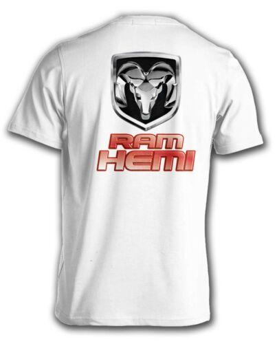 Dodge Ram Hemi T-Shirt Rams Head Pickup Truck MOPAR Mens Small to 6XL and Tall