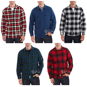 NWT-Woolrich-Classic-Fit-Ultimate-Flannel-Premium-Brushed-100-Cotton-Men-Shirt