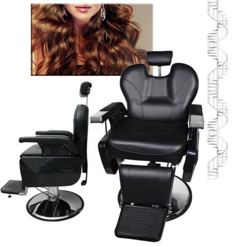 Einstellbar Hydraulisch Salon Haare Schneiden Friseur Stuhl Rasieren Frisörstuhl