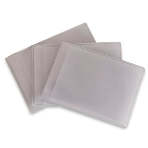 Credit Card Holder Plastic Refills Replacement Sleeves for Storage Solutions