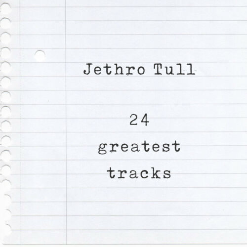 Aqualung Mixtape T-Shirt of their 24 Greatest Hits Locomotive Breath