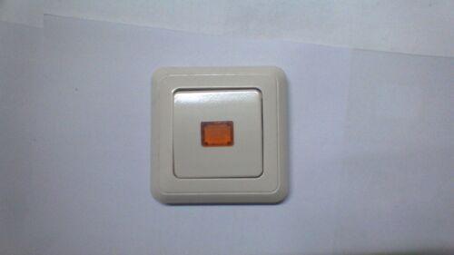 Jung Abdeckung für Kontrollschalter weiß ST 550// 5560 KO volle Platte