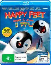 Happy Feet Two (Blu-ray, 2012, 2-Disc Set) Movie, Like New
