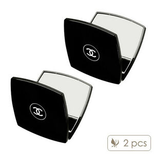 2 pcs chanel miroir double facettes mirror duo slim with for Miroir double face