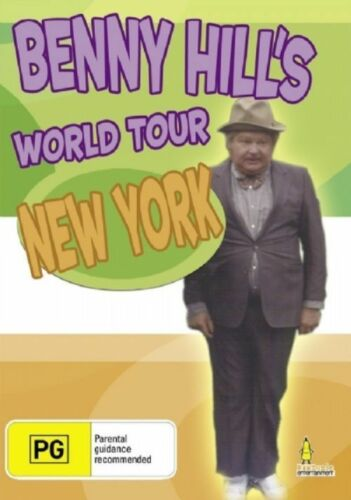 1 of 1 - BENNY HILL - WORLD TOUR NEW YORK DVD   NEW