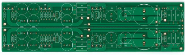 Power JFET SE 15W( 8 ohm) amplifier based on F3 stereo PCB !