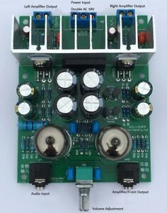 LM1875T-Hifi-6j1-Valve-Drive-Power-Amplifier-Board-Kits-Headphone-Amp-Kits-20W