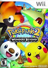 PokePark 2: Wonders Beyond [Nintendo Wii, NTSC, Attractions Mini-games] NEW