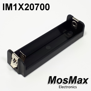 IM1X20700-MosMax-single-20700-21700-battery-tray-holder-sled-injection-molded