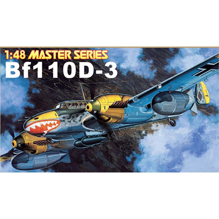 Dragon  48 Messerschmitt Bf110D-3