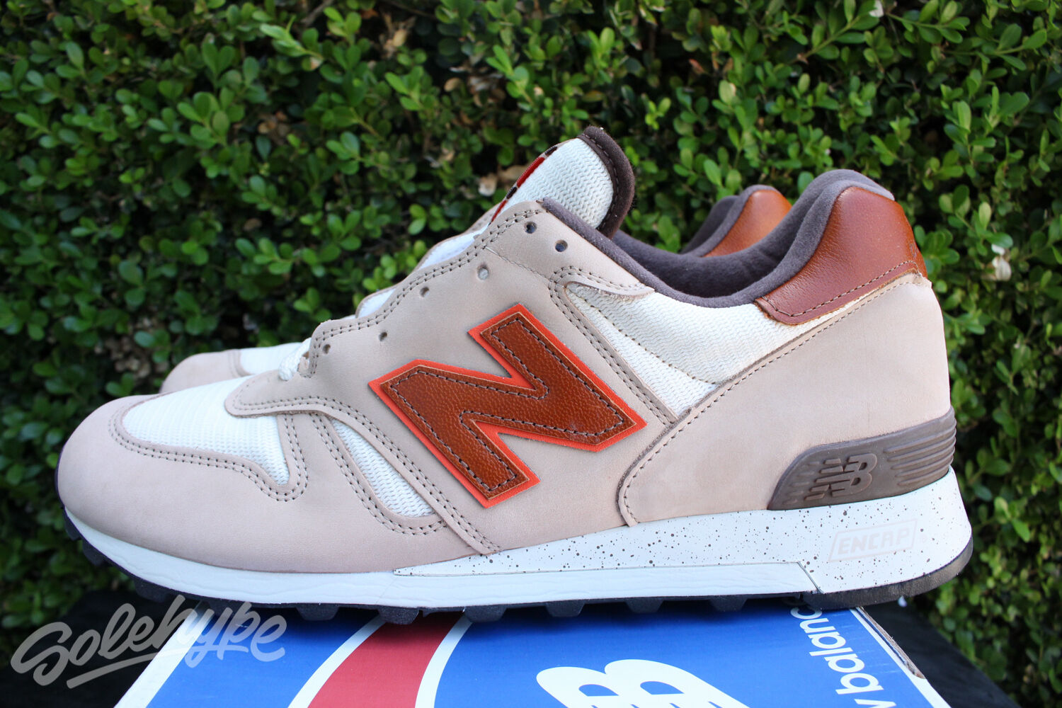 NEW BALANCE 1300 SZ 7 WHITE MADE SAND RED NATIONAL PARKS MADE WHITE IN USA M1300GB 37c4fd