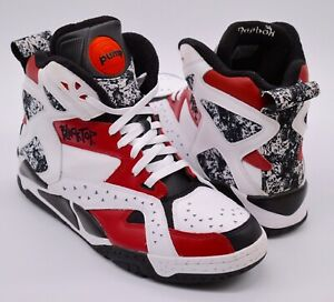 Détails sur NDS Reebok Pump Blacktop Battleground BlancNoirFlash Rouge Bred rare rétro 12 afficher le titre d'origine