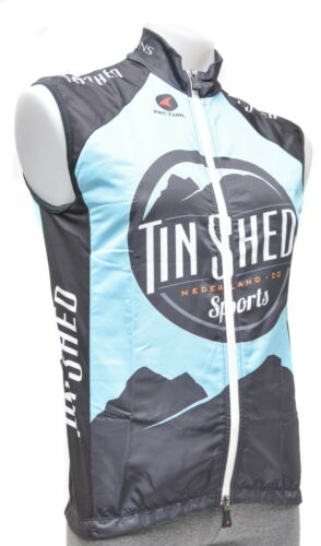 Pactimo Tin Shed Cyclisme Vent gilet hommes M L XL 2XL Road Mountain Bike CX MTB