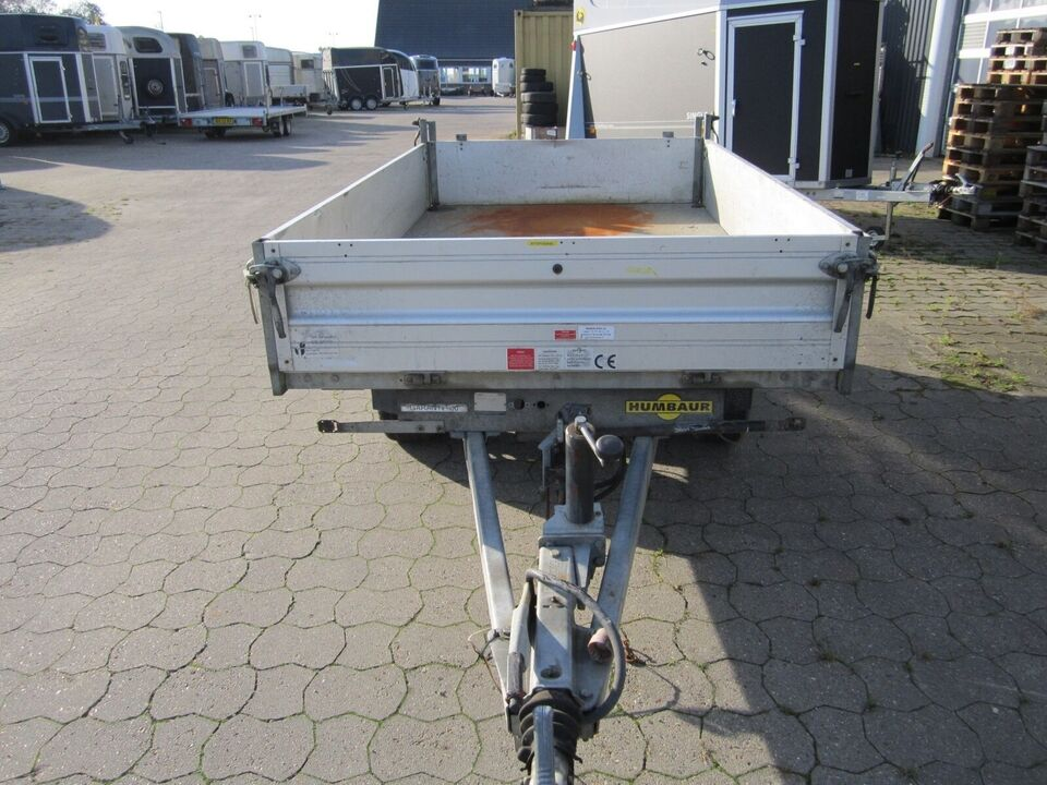 Trailer Humbaur Garant 2600 manuel tip, lastevne (kg):