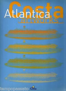 Arte-pittura-NAVE-COSTA-ATLANTICA-ARTWORKS-PIZZI-PER-COSTA-CROCIERE-2000