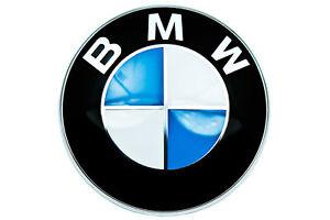 BMW-Genuine-Front-Roundel-Emblem-Badge-Bonnet-Hood-82mm-Fits-Most-51148132375