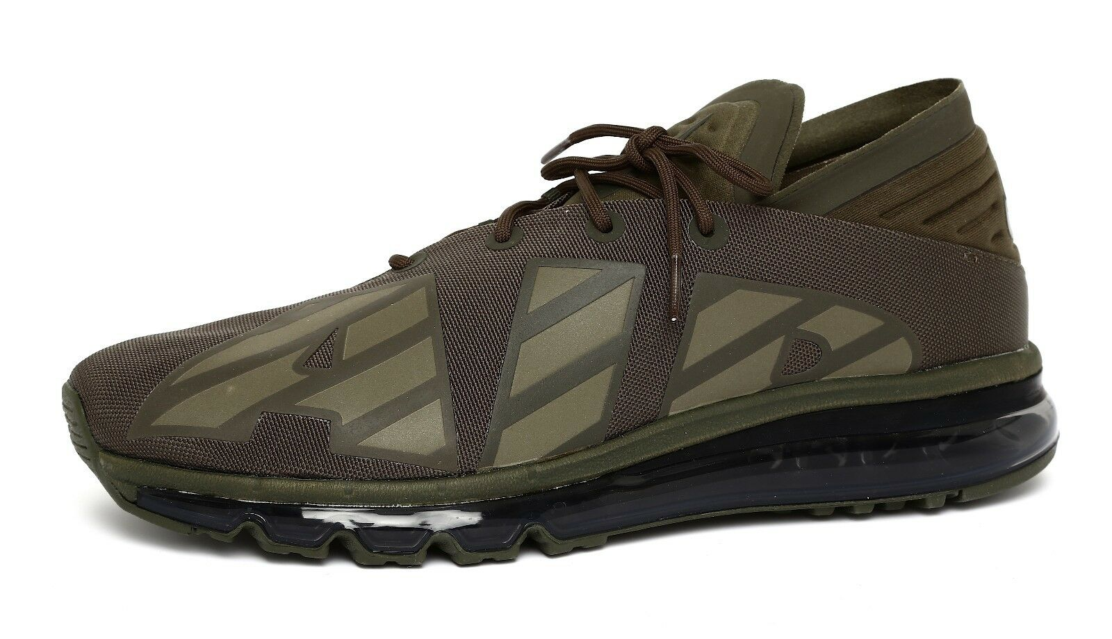 Nike Air Max Flair SE Men's Cargo Khaki Running Shoes Sz 10.5 2064 The most popular shoes for men and women