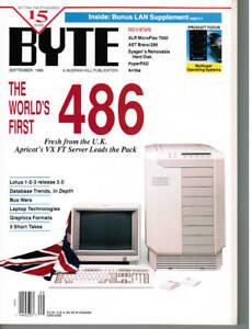 Byte-Magazine-Volume-14-No-9-September-1989-Back-Issue-COMPUTER-Magazine