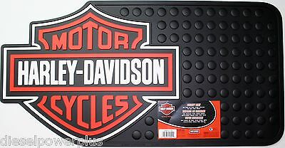 BIG harley davidson shield mat welcome shop color cargo suv floor home 24x34
