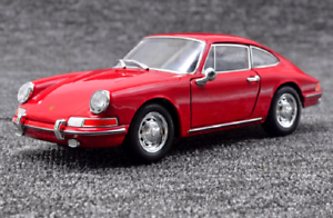 Welly-1-24-1964-Porsche-911-Red-Diecast-Model-Sports-Racing-Car-New-in-Box
