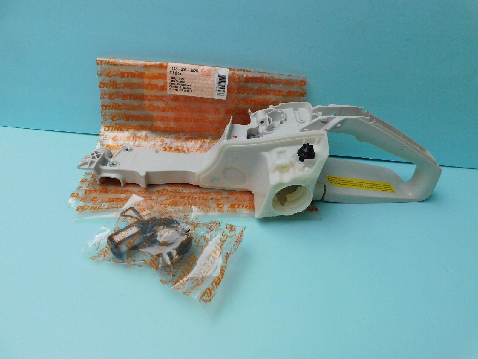 GENUINE stihl ms251 crank case oil tank motor housing   NEW OEM