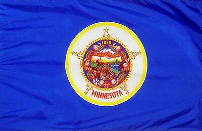 NEW 2ftx3ft MINNESOTA STATE YARD 2 X 3 FLAG