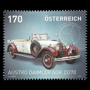 Austria-2014-Cars-034-Austro-Daimler-ADR-22-70-034-Motor-Vehicle-Sc-2482-MNH
