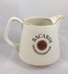 BACARDI-Rum-Labeled-Ceramic-Pub-Pitcher-24-Oz
