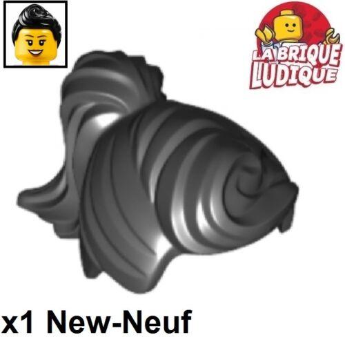 Lego 1x Minifig cheveux coiffure hair queue Ponytail Fringe noir//black 13785 NEW