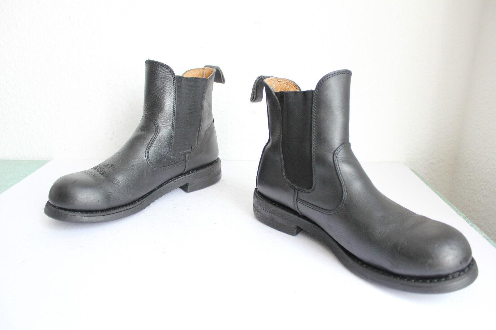 ISD trademarkt elegante chelsea botas Echt Leder negro eu 43, 5-44 - tapa de acero