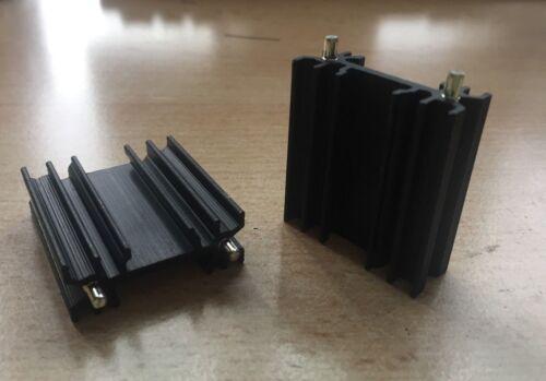 Dissipatore di calore perni di fissaggio TO-218 TO-247 35 x 38 x 13mm Confezione da 2 Z2094