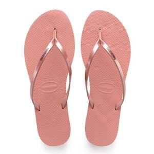 Havaianas Flip You Metallic Womens Flops Nude Rose TTwx1qr