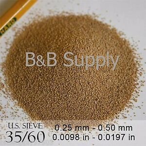 Details about 35/60 Grit Ground / Crushed Walnut Shell Blasting Media 13  lbs