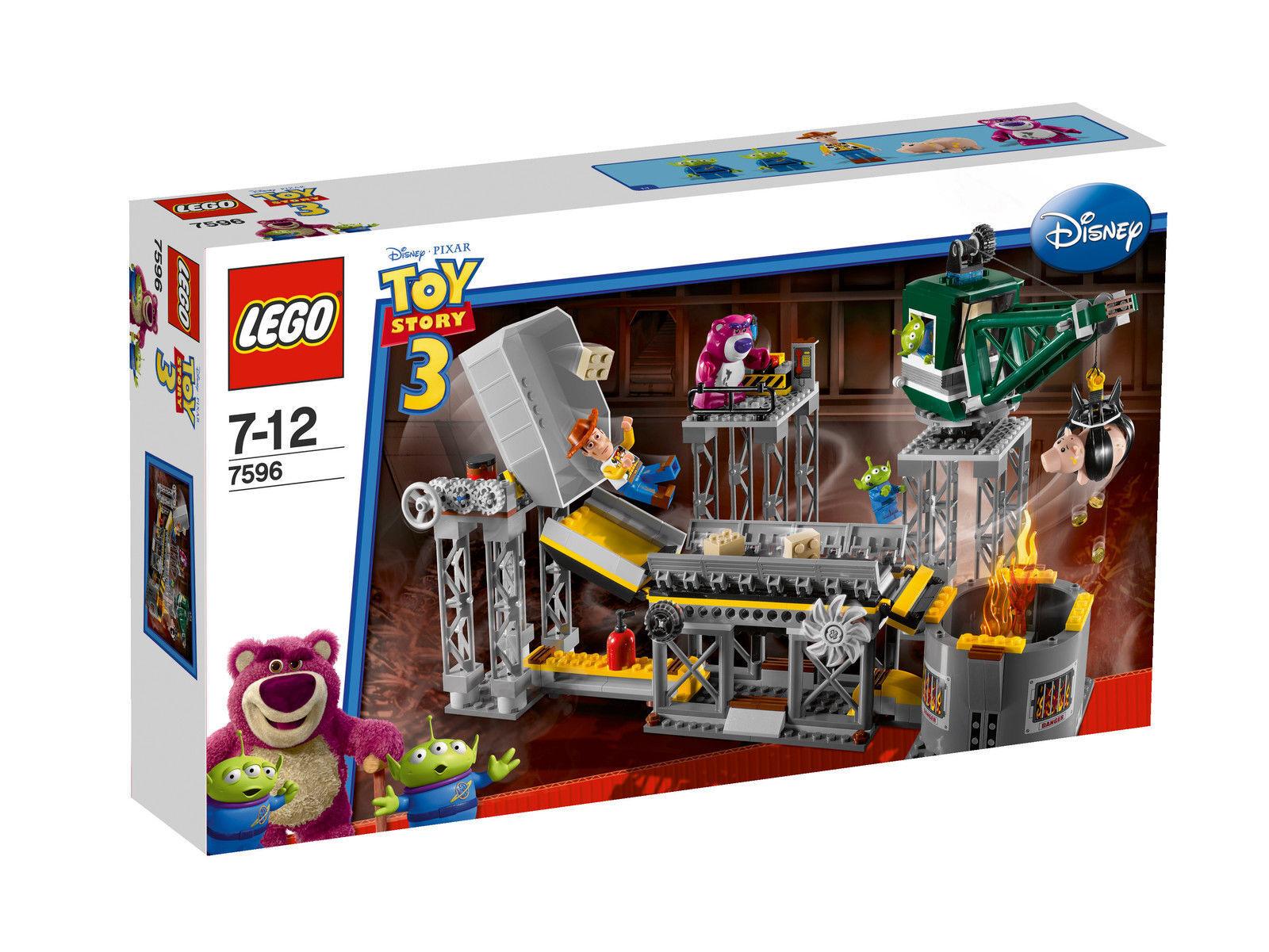LEGO Toy Story Flucht aus der Müllpresse (7596) Neu & OVP