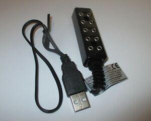 Barre-de-Distributeur-Avec-Cable-de-Connexion-Et-USB-Connecteur-3-5V-Nouveau