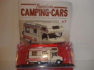 passion camping cars citroen c25 capucine pilote r 470 france 1984 au 1 43 ebay. Black Bedroom Furniture Sets. Home Design Ideas