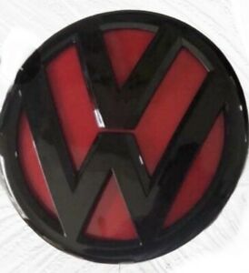 Transporter T5 (2010 +) T5.1, T6, T6.1 Caddy Rear Badge Black / Red