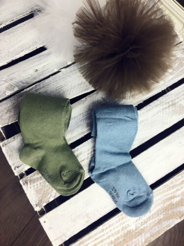 Kids Baby Tights in NICE 2 Colours BLUE or  GREEN
