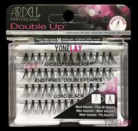 Lot 4 - Ardell Eyelashes Individual Flare Lashes Knot Free Double Flares Long