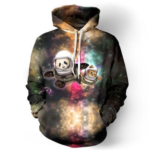 New Women/'s Men/'s 3D Graphic Printed Sweatshirt Jumper Hoodies Tops