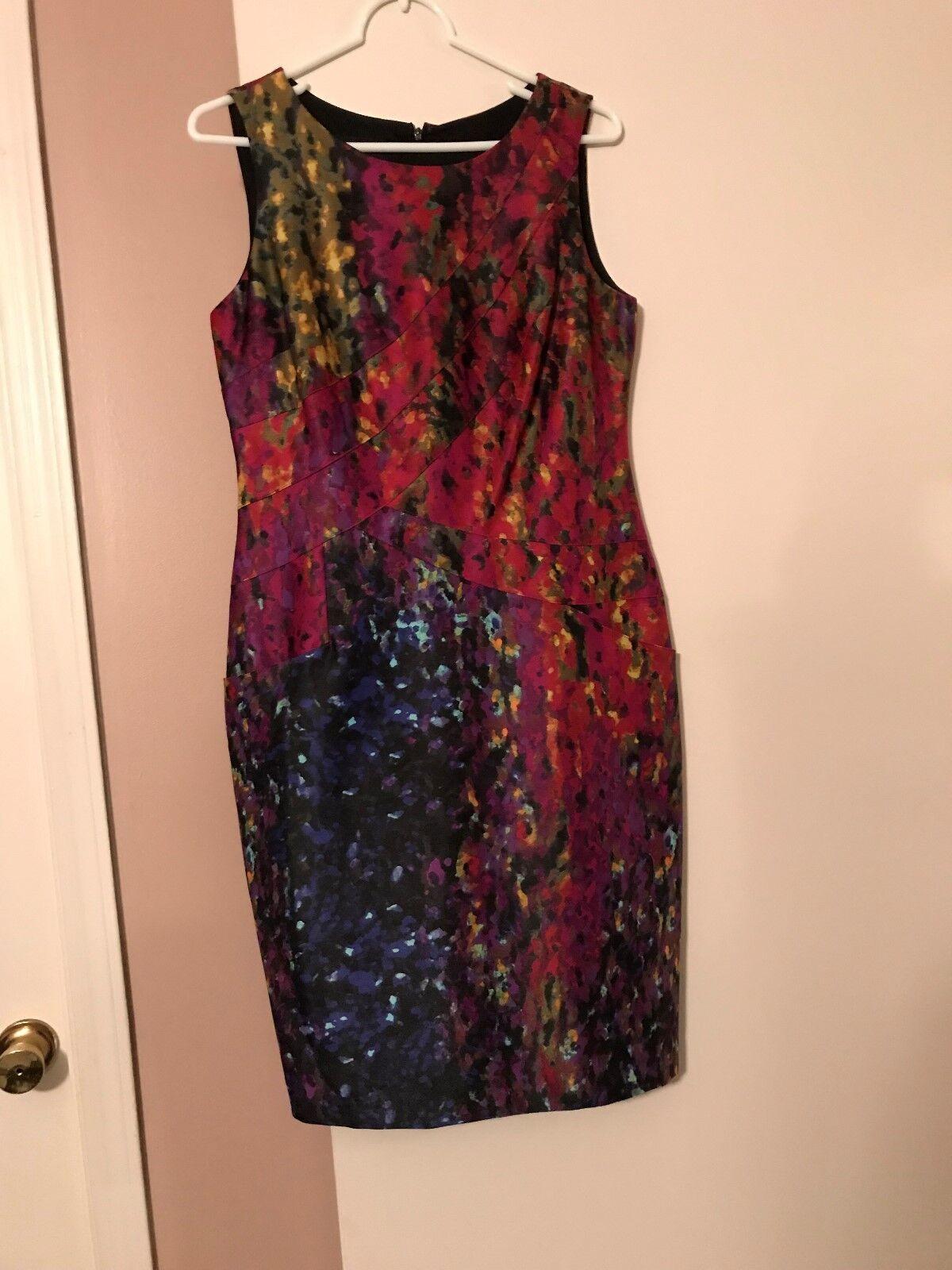 Jones New York York York Dress - Multi  - Size 8 - NWOT 8fe946
